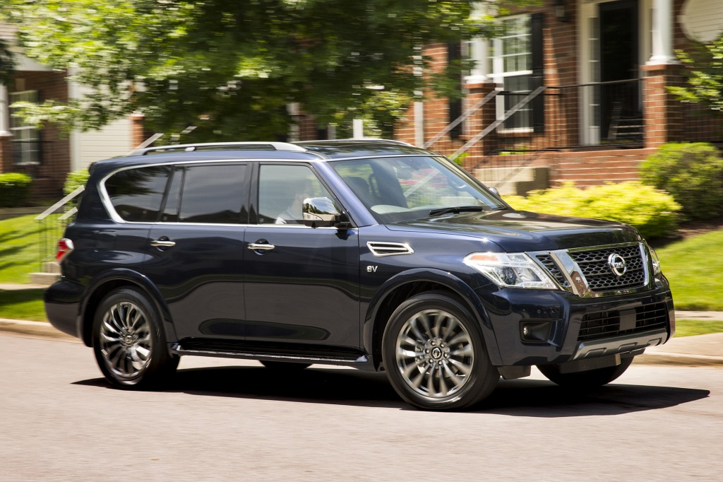 2021 nissan armada release date  top newest suv