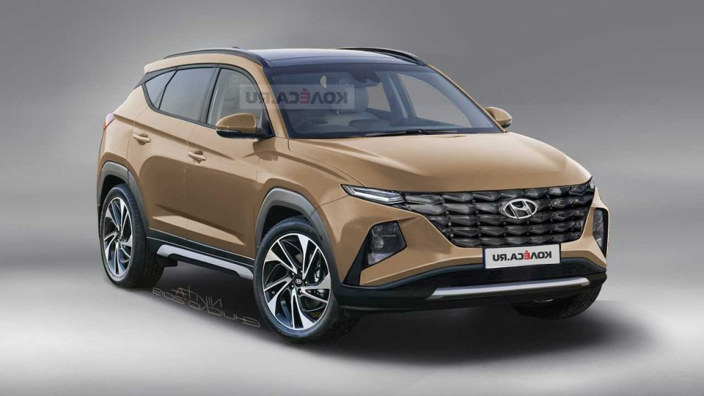 2021 hyundai tucson redesign  top newest suv