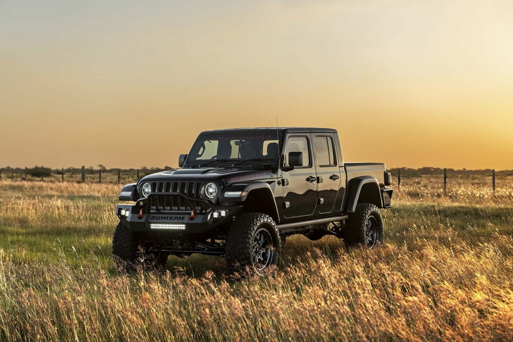 2021 jeep gladiator hennessey maximus exterior  top