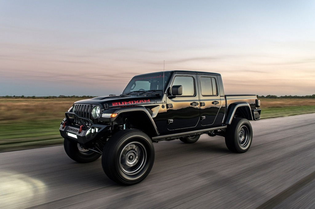 2021 jeep gladiator hennessey maximus upgrade, specs, and