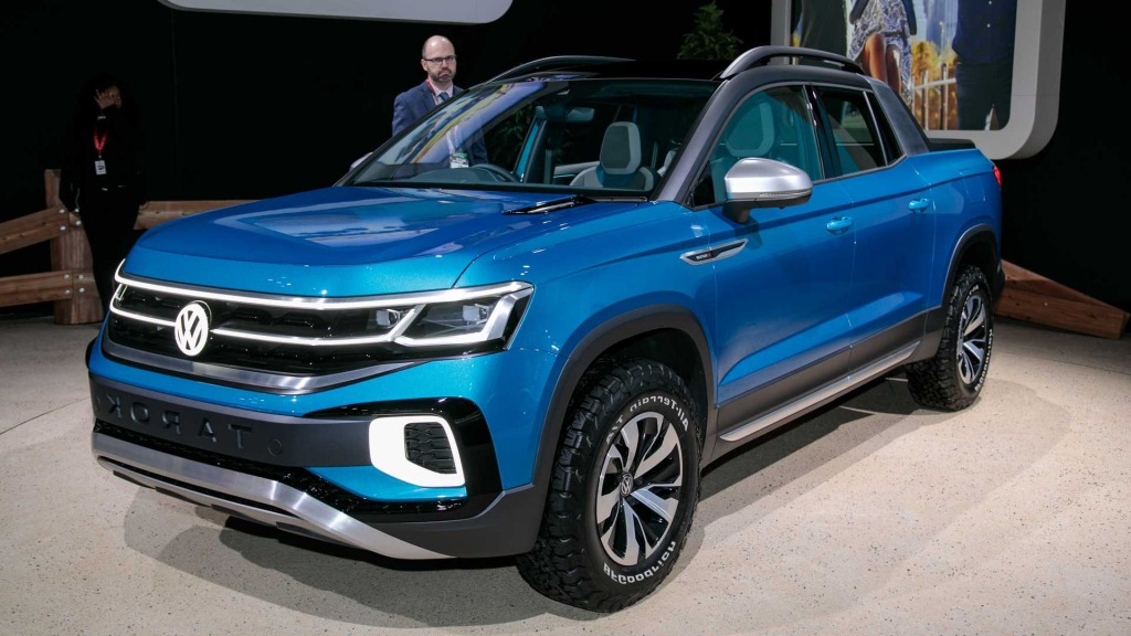2021 vw tarok pickup truck spy photos  top newest suv