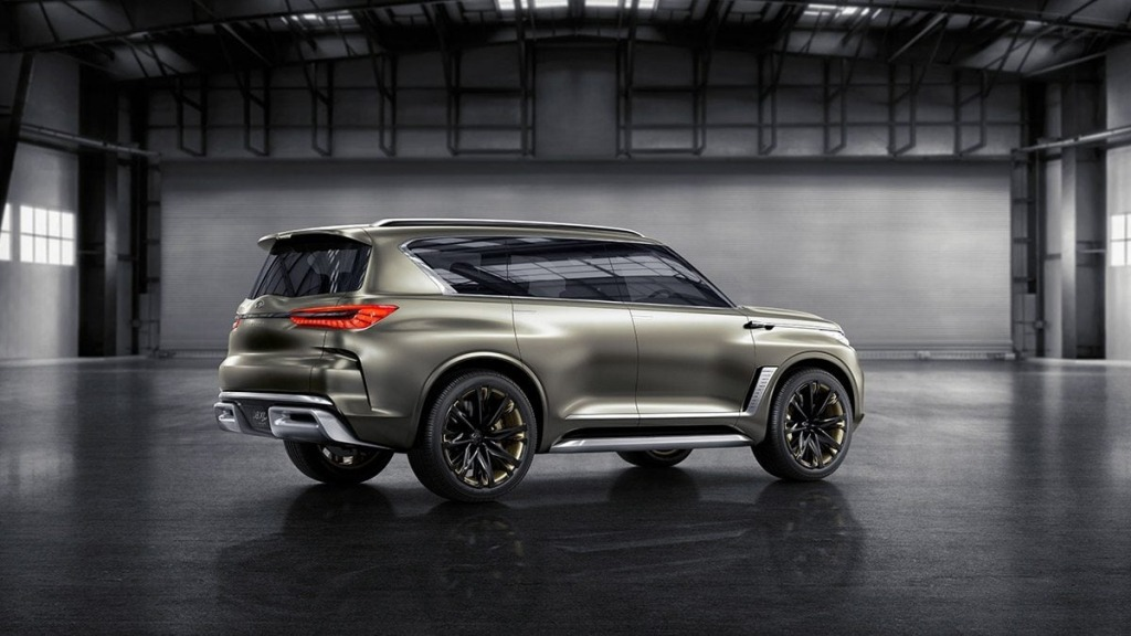 2021 infiniti qx80 exterior  top newest suv